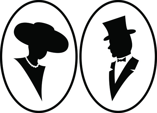 Astounding free vector silhouettes pictures