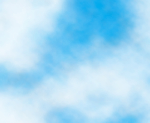 Light Blue Sky with Clouds Vector